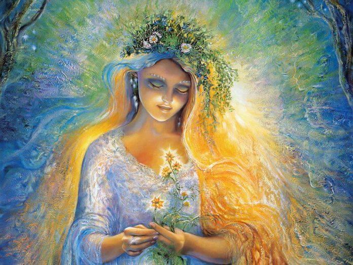 Макошь — богиня судьбы и женской магии.